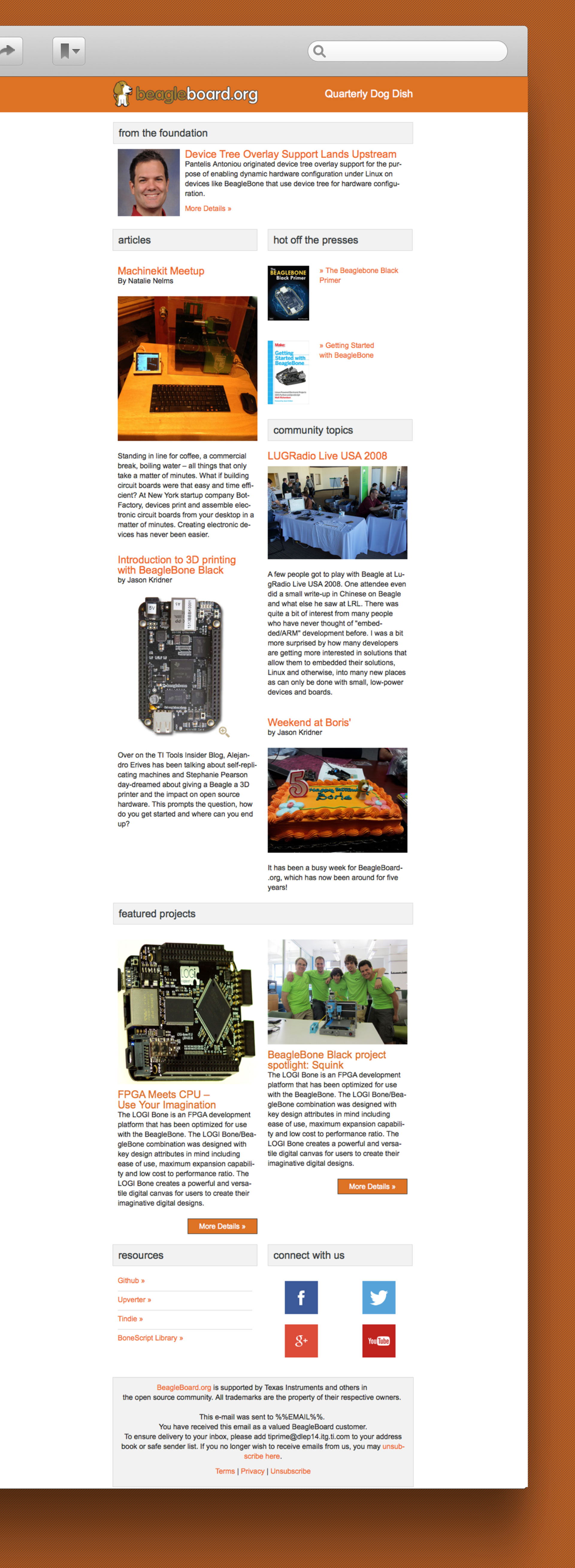 beagle board.org Newsletter