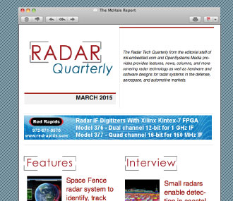 RadarQuarterly Newsletter